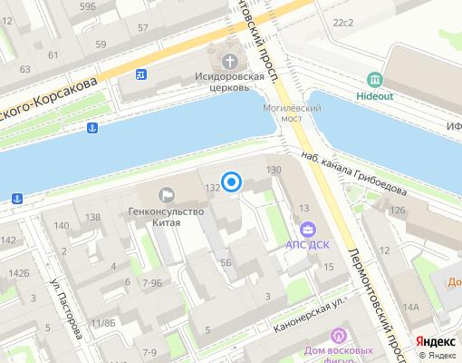 Товарищество собственников жилья «Дом на канале» на карте Санкт-Петербурга