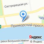 СКС Альтернатива на карте Санкт-Петербурга