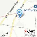 Ленинградское областное бюро судебно-медицинской экспертизы на карте Санкт-Петербурга