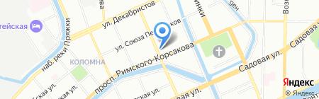 Le Monde на карте Санкт-Петербурга