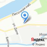 Даниленко на карте Санкт-Петербурга