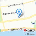 Банк Уралсиб на карте Санкт-Петербурга