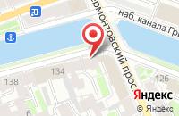 Схема проезда до компании Виам Спб в Санкт-Петербурге