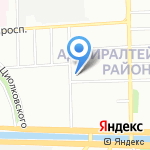 Скорпион Плюс на карте Санкт-Петербурга