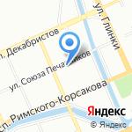 СМК Гиперион на карте Санкт-Петербурга