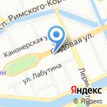 ДОЗ на карте Санкт-Петербурга