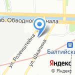 Снегурки.ру на карте Санкт-Петербурга