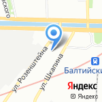 Icedream-SPB на карте Санкт-Петербурга