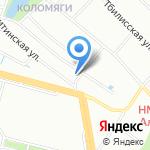 Finn Fish на карте Санкт-Петербурга