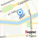 Фонтанка 167 на карте Санкт-Петербурга