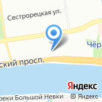 Палкинъ на карте Санкт-Петербурга