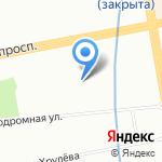 Софитель на карте Санкт-Петербурга