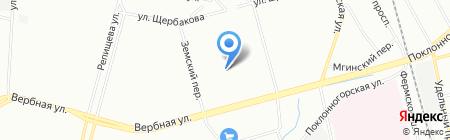 Детский сад №25 на карте Санкт-Петербурга