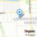 Вествэй на карте Санкт-Петербурга