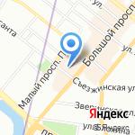 TANGO на карте Санкт-Петербурга