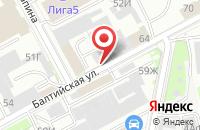 Схема проезда до компании Апк Руст в Санкт-Петербурге