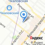 Garde-robe на карте Санкт-Петербурга