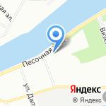 Милена на карте Санкт-Петербурга