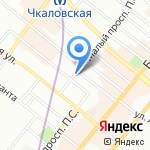 Арт-радуга на карте Санкт-Петербурга