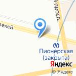 Центр ремонта обуви и изготовления ключей на карте Санкт-Петербурга