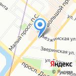 Первый Поверенный на карте Санкт-Петербурга