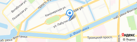 Детский сад №42 на карте Санкт-Петербурга