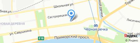 KAPRIZE на карте Санкт-Петербурга