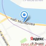 Компания Энерго на карте Санкт-Петербурга