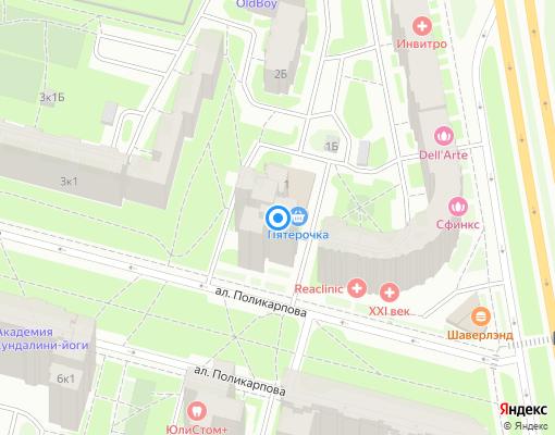 Жилищно-строительный кооператив «ЖСК-889» на карте Санкт-Петербурга