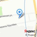 А-Транс на карте Санкт-Петербурга