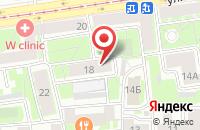 Схема проезда до компании Нику в Астрахани