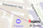 Схема проезда до компании Bridges в Санкт-Петербурге