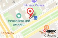 Схема проезда до компании Атлас Альянс в Санкт-Петербурге