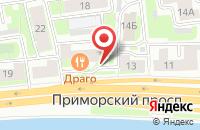 Схема проезда до компании РЕСТОРАН ДРАГО в Приморске