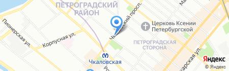 Всенародный на карте Санкт-Петербурга