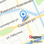 УрГиника на карте Санкт-Петербурга