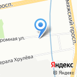 Преображение на карте Санкт-Петербурга