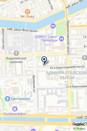Ольма-С ООО на карте Санкт-Петербурга