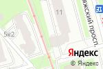 Схема проезда до компании Clean Expert в Санкт-Петербурге
