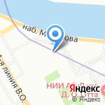THANN на карте Санкт-Петербурга