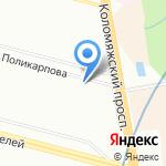 Wise на карте Санкт-Петербурга