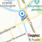 Векон Роллет на карте Санкт-Петербурга