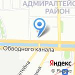 Opera Concert Club на карте Санкт-Петербурга