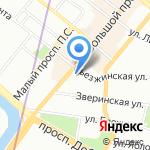 Дента Л на карте Санкт-Петербурга