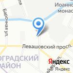 Росполимерколор на карте Санкт-Петербурга