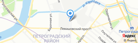 Идеал Формат на карте Санкт-Петербурга