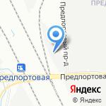 Альфа Бетон ЖБИ на карте Санкт-Петербурга