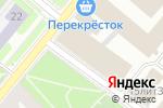 Схема проезда до компании Мастерская №1 на П. С в Санкт-Петербурге