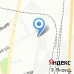 Восход на карте Санкт-Петербурга
