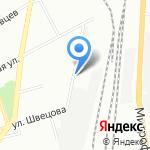АНТЕР на карте Санкт-Петербурга